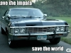 Supernatural Slideshow: The Metallicar