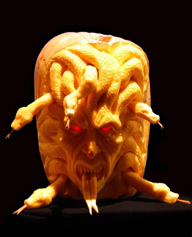 Extreme Pumpkin Carving – The Brophisticate