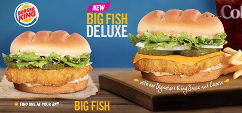 Big fish deluxe at burger king the brophisticate for Burger king big fish