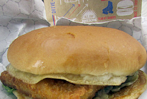 Fish the brophisticate for Sonic fish sandwich
